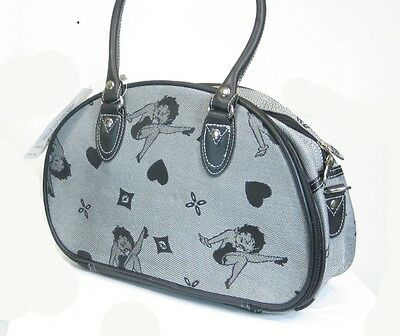 Betty Boop Overnight Bag - Gray