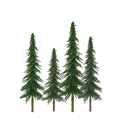 "JTT SCENERY 92028 SUPER SCENIC SPRUCE TREES 6"" to 10"" O-SCALE 12/PK JTT92028"