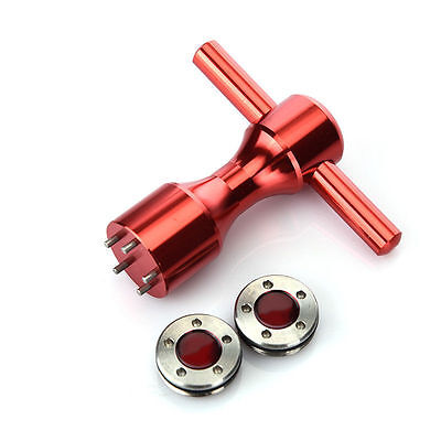 2Pcs 5g~40g Golf Custom Weights + Red Wrench For Titleist Scotty Cameron Putters