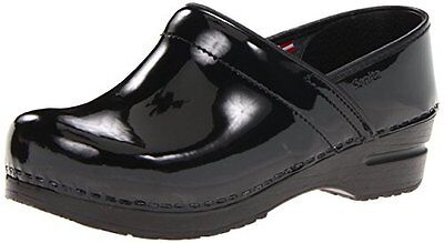 Sanita  shoes Professional work Closed Back Clog in Patent Leather NEW SZ 41