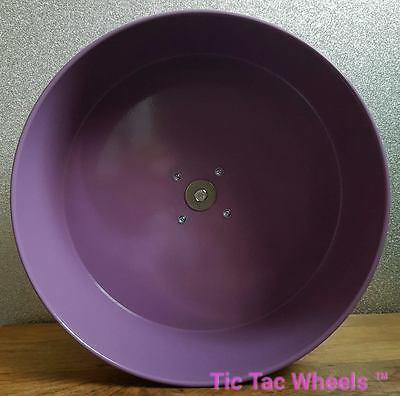 "16"" metal exercise wheel. Silent chewproof wheel Chinchillas degu 5"" PURPLE"