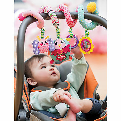 Infant Toddler Sparkle Spiral Fun Play Learning Activity Interactive Crib Toy