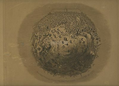 Print For Great Exhibition Of 1851 - All The World Is Going