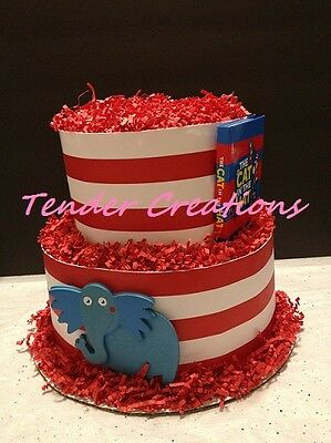 Dr Seuss Baby Shower Decoration Diaper Cake Two Layers NEW!