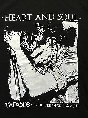 New Joy Division Ian Curtis Black Fitted T-Shirt Size Medium Girls