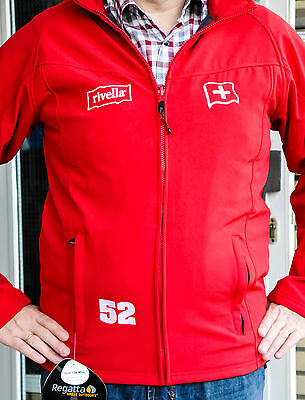 "Rivella Limonade, Damen Übergangs-Jacke Outdoor Regen Softshell ""Regatta"" Gr.M"