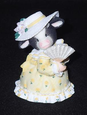 Mary Moo Moos Enesco 1999 Y'all Have A Special Place In Moo Heart Figurine NEW
