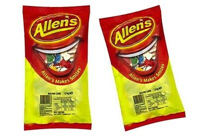 ALLENS RACING CARS 2.6 kg LOLLIES BULK PARTY FAVORS SWEETS CANDY BUFFET FAOURS