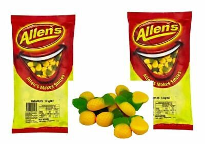 Allens Pineapple 2.6kg Lollies Bulk Party Favours Sweets Favors Candy Buffet
