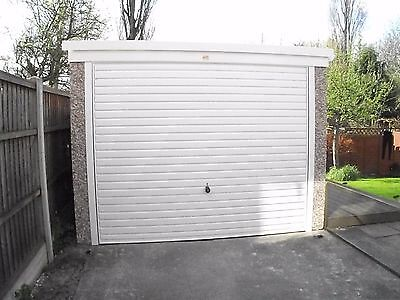 Pent Concrete Garage 8ft6in x 16ft3in installed *conditions apply £1,600