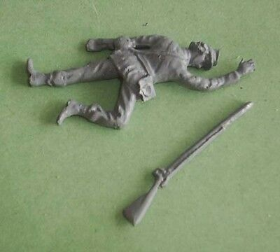 Toy Soldiers American Civil War Dead Soldier  54 Mm