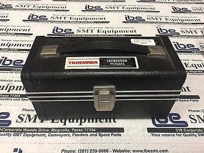 Troemner Calibration Weight Set 2lbs to 1/32.oz
