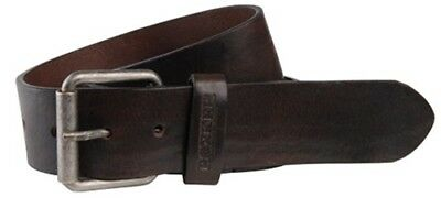 Rokker King Cobra Belt Black Brown Classic from the Vintage Collection