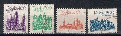 Poland 1981  Sc 2456-2459  Used  City   - 6/7
