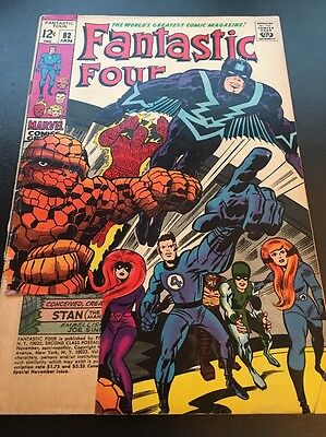 Fantastic Four Vol 1 # 82 Cents Issue, Silver Age