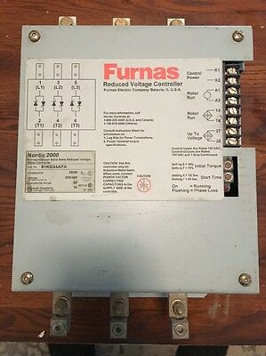 Furnas Nordic 2000 Microprocessor Reduced Voltage Motor Controller 91KD34AFA
