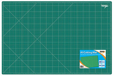 A1 Cutting Mat/Heavy Duty/Double Sided/Non-Slip Self-Healing Surface/PrintedGrid