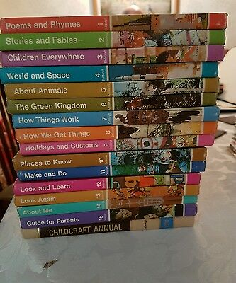 Childcraft How & Why Library Books 1976 (complete Collection of 15)