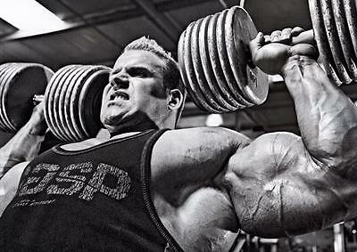 JAY CUTLER POSTER Bodybuilding Gym Weights Wall Art Print Picture Photo A3 A4
