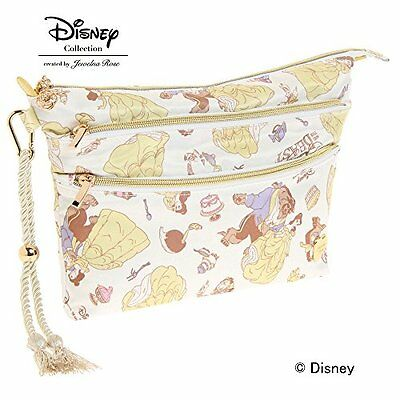 Jewelna Rose Disney  Beauty and the Beast Series Double Zipper Pouch