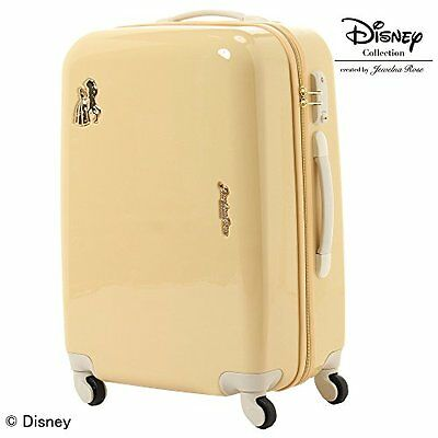 """TROTTEUR Disney """"Beauty and the Beast"""" Series Travel Suit case Jewelna Rose"""