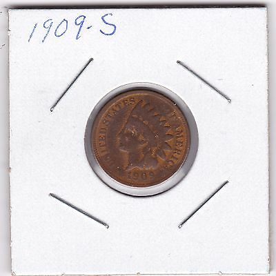 1909 S Indian Head Cent, rare key  date  Earth Find?