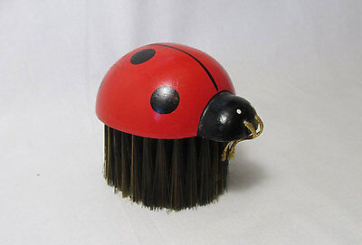 Vintage Ladybug Brush by Counterpoint San Francisco Made in Japan