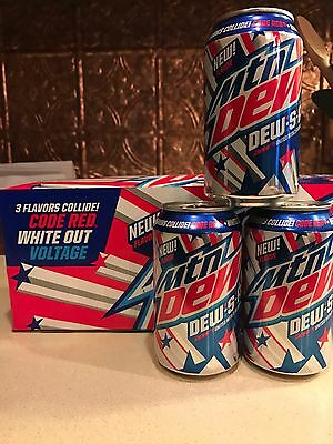 Mtn. Dew! Dew.S.A Limited Edition! New Flavor of Mtn. Dew for 4th of July