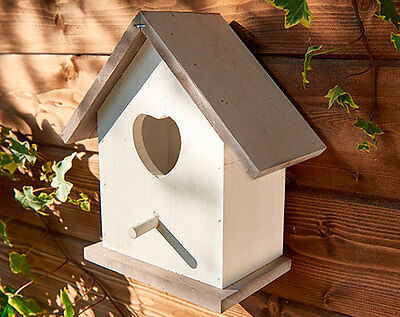 nesting box house bird garden birds wooden small nest traditional hanging wood