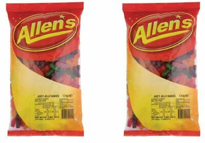 Allens  Jelly Babies 2.6kg Lollies Bulk Party Favours Sweets Party Candy Favors