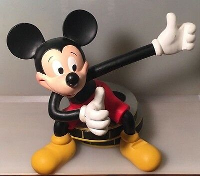 Mickey Mouse Vintage Figurine Photo Frame Sitting Film Reels Disney Collectible
