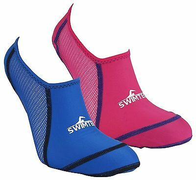 Swim Tech Anti Slip Verruca Swimming Pool Sock Sizes 10-13, 1-4 & 5-7Uk
