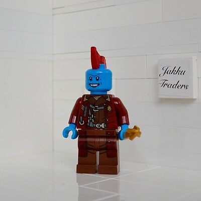 Yondu New Genuine Lego Guardians Of The Galaxy Minifigure From 76080