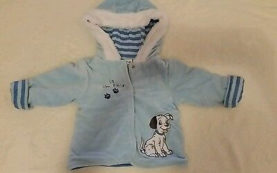 101 Dalmations Baby Boys Winter Jacket Size 0