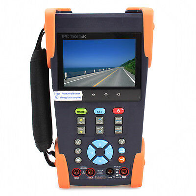 """IPC-3500M 3.5"""" Touch Screen IP Analog Camera Tester Multimeter+Cable Finder F1"""