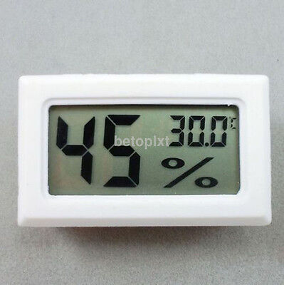 Wh Mini Digital LCD Indoor Temperature Humidity Meter Thermometer Hygrometer