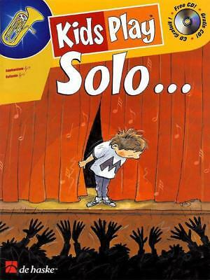 Kids Play Solo Euphonium Book & Cd