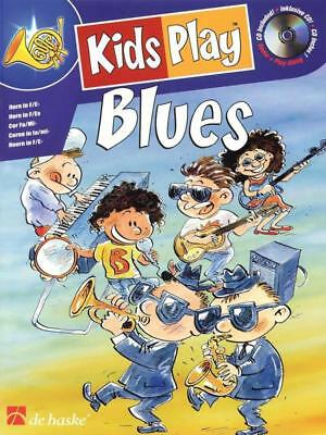 Kids Play Blues Horn Book & Cd