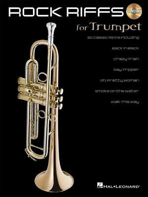 Rock Riffs Trumpet Book & Cd