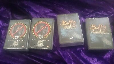 Buffy The Vampire Slayer Collectible Trading Card Game -1050 Cards + 5 New Packs