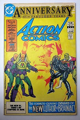 Action Comics #544 - 1st Lex Luthor Armour - DC Comics