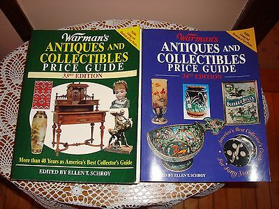 2 Warman's Antiques and collectibles Price Guides