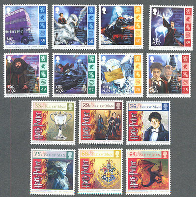 Isle of Man Harry Potter complete 2004/5 mnh(14)