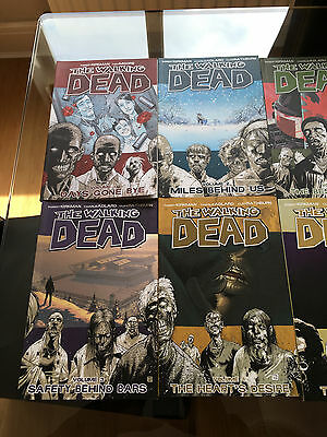 The Walking Dead Graphic Novel Comics Volumes 1-8 TPB Bundle / Set