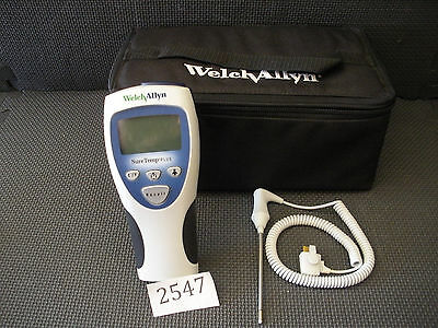 WELCH ALLYN SureTemp Plus Thermometer Ref: 692 with case!