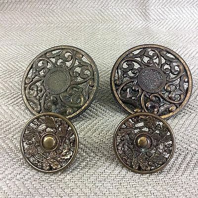Vintage Door Handle Drawer Pull Knob Salvaged Reclaimed 4 Ornate Antique Style