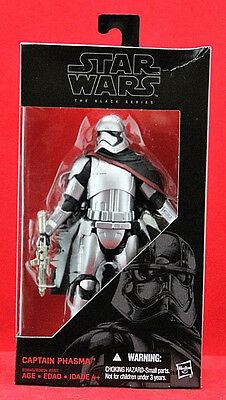"Captain Phasma Star Wars the Black Series 6"" Action Figure Hasbro Disney Toy New"