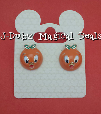 NWT Disney Parks Orange Bird Womens Earrings The Dress Shop