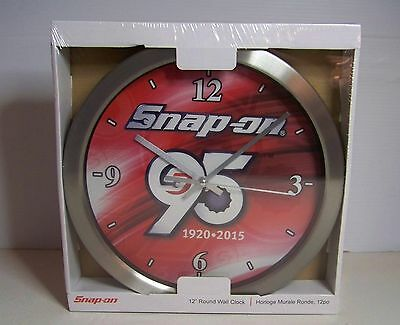 Snap On Tools 95Th Anniversary Clock Nos