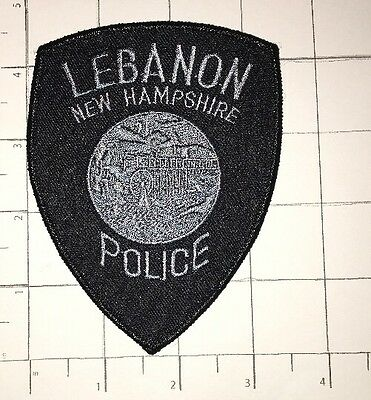 Lebanon Police Department Patch – New Hampshire – Subdued